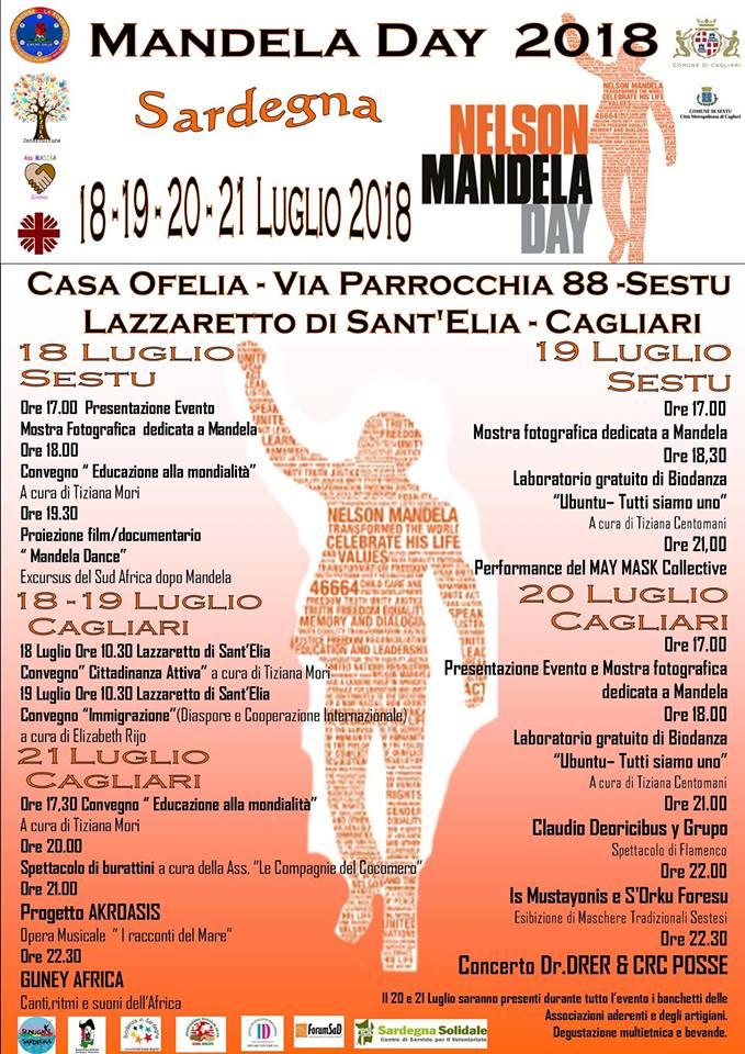 V edizione del MANDELA DAYin Sardegna